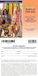 Tommy Hilfiger coupons for february 2017
