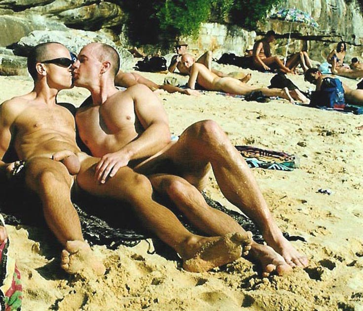 Gay Nude Beach Party