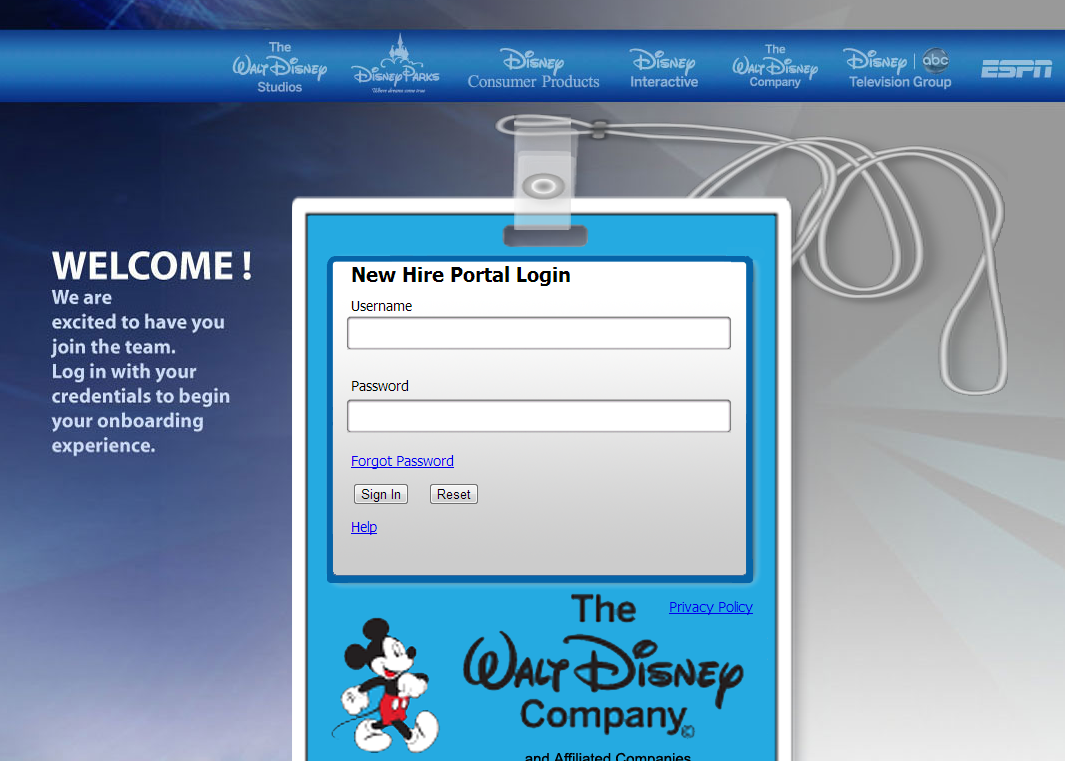Onboarding: New Hire Documents *Updated* | The Disney College ...