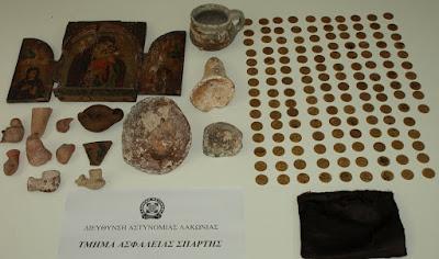 Σπάρτη: Μικρό μουσείο στα χέρια αρχαιοκαπήλων