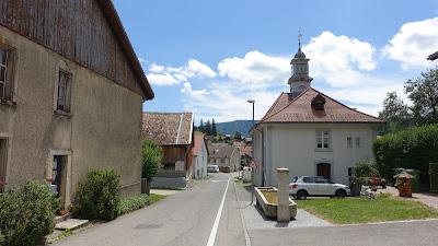 Champoz, Dorfzentrum