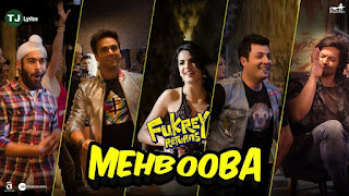 Mehbooba From Fukrey Returns: This song is in voice of Mohammed Rafi, Neha Kakkar, Raftaar & Yasser Desai, composed & recreated by Prem & Hardeep while lyrics is penned by Kumaar.