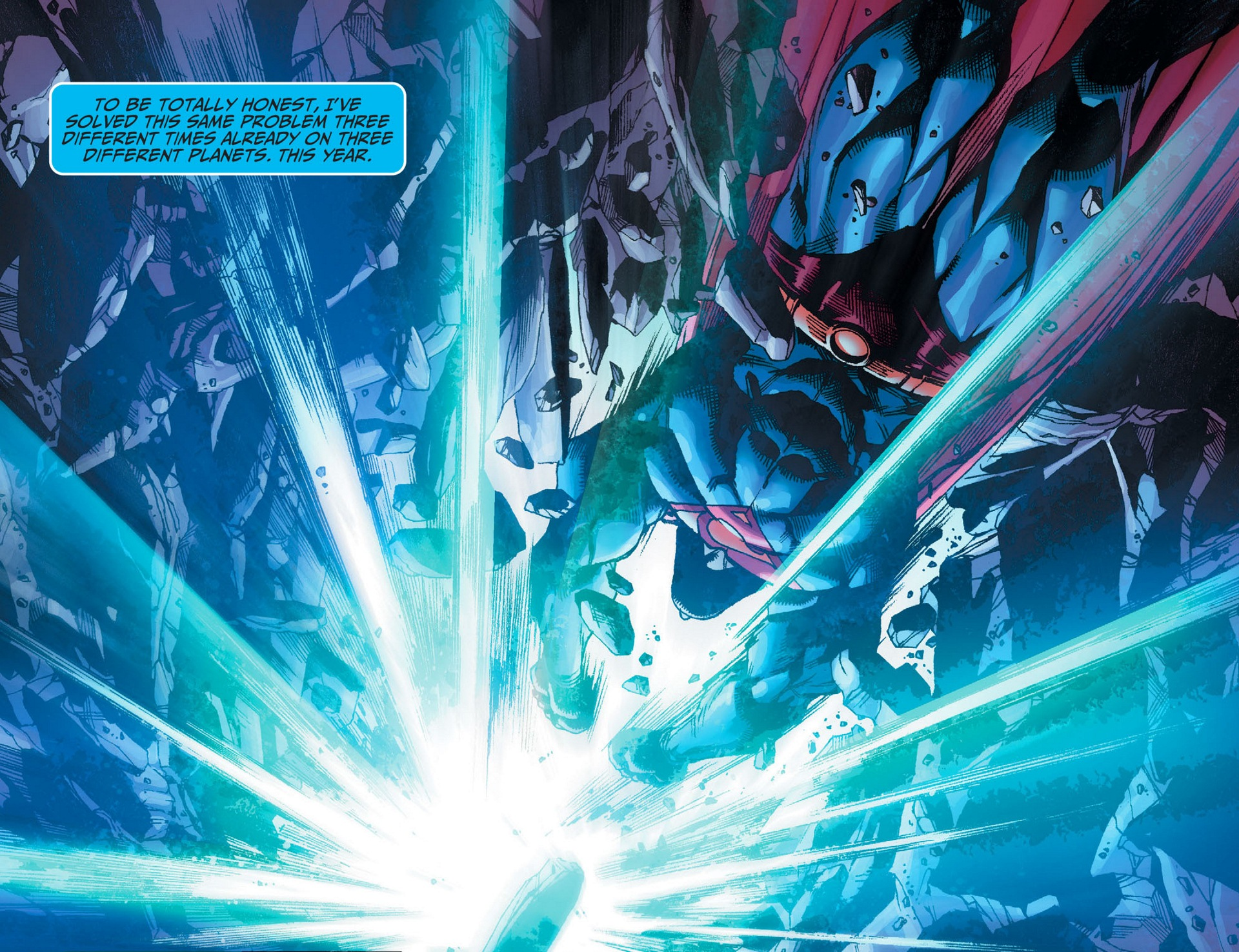 Read online Adventures of Superman [I] comic -  Issue #8 - 13