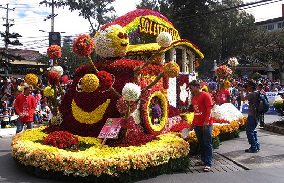 Panagbenga Flower Festival in Baguio City Philippines