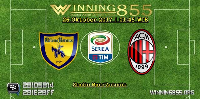 Prediksi Skor Chievo vs Milan | 26 Oktober 2017