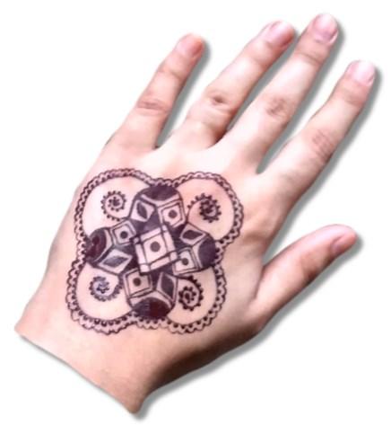 3D Mehndi Designs
