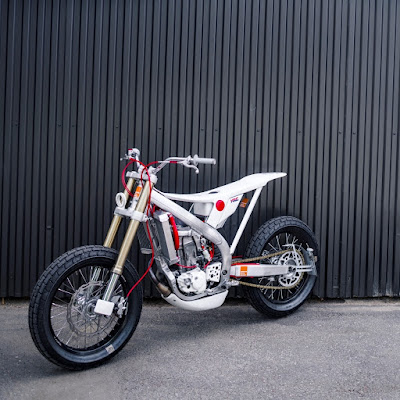 "Honda CRF 450 ""Concept Tracker"" by Marcus Moto Design"