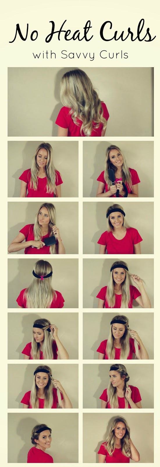 7 Easy Ways To Curl Your Hair Without Heat - Viral Buzz f79844c2c26