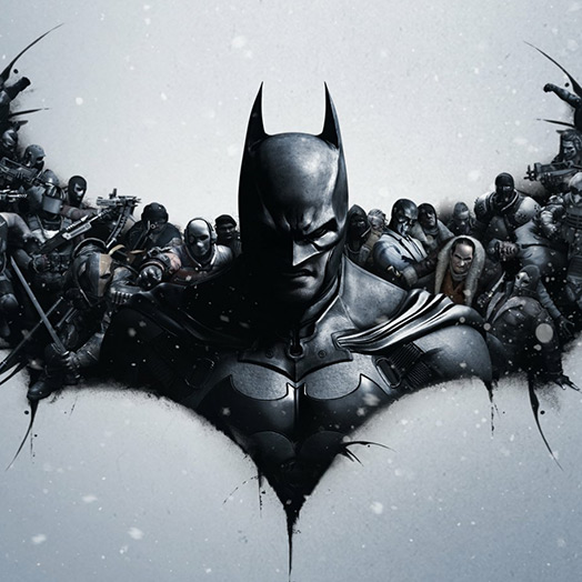Batman Crowd Wallpaper Engine