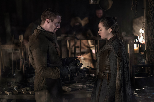 Arya meets Gendry again