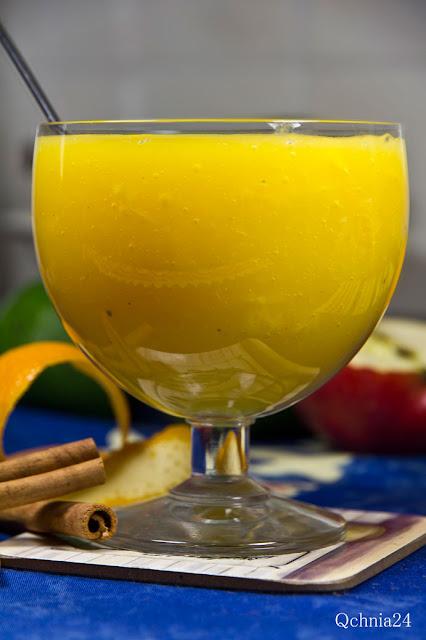 kisiel pomarańczowy korzenny