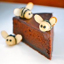 Nigella's Chocolate Honey Bee Cake