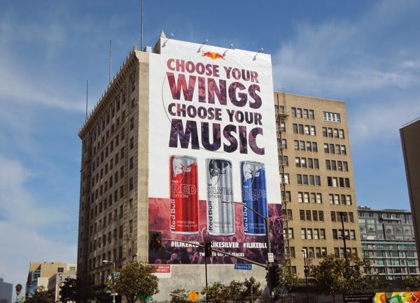 Red Bull Choose your wings Choose your music billboard