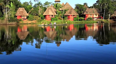 Excursiones en el río Amazonas, Ecuador
