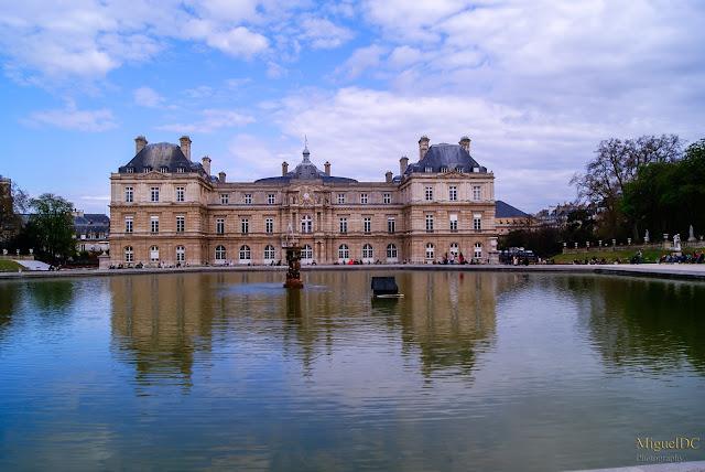 Palacio de Luxemburgo en París