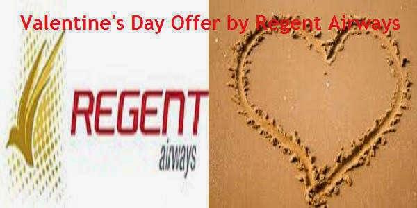 Regent Airways Valentine's Day Offer
