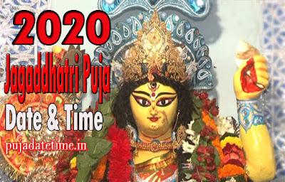 2020 Jagadhatri Puja Date & Time