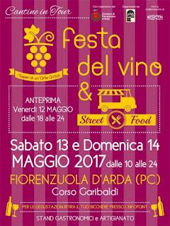 La Festa Del Vino E Lo Street Food 13-14 maggio Fiorenzuola D'Arda (PC)