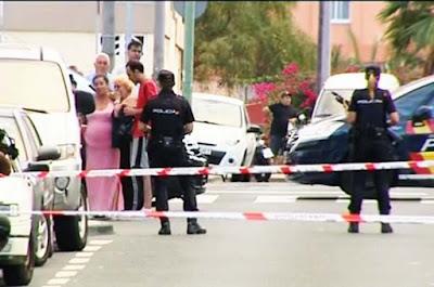 La Policía sigue en busca de autor del tiroteo de la calle Córdoba, Las Palmas de Gran Canaria, que acabó con la vida de un hombre