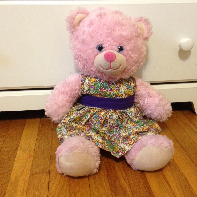 Spacefem Build A Bear Dress Pattern Printable PDF Adorable Build A Bear Clothes Patterns