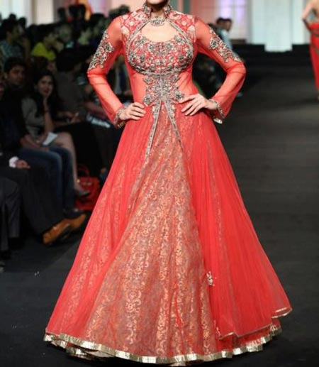 Front Open Shirt Frock And Gown Designs 2016 2017 India And