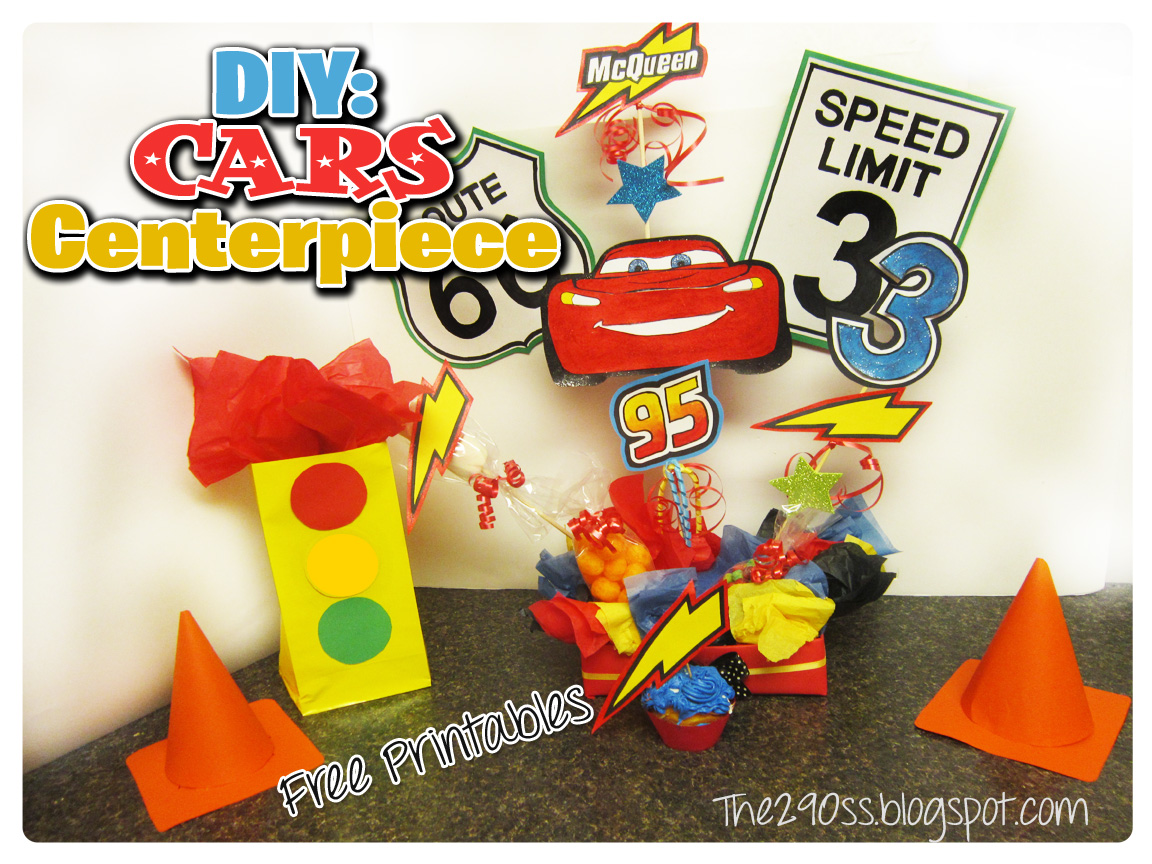 Disney Cars Birthday Party Theme Diy And Ideas The290ss