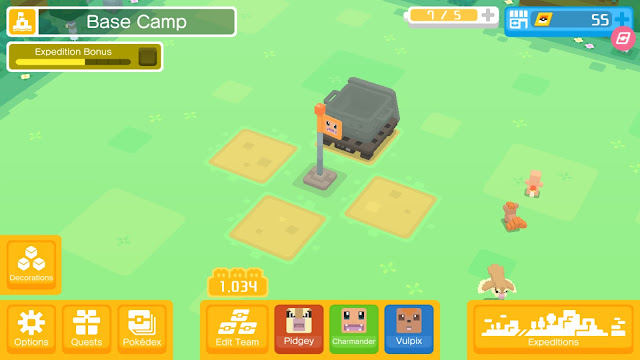 Pokémon Quest | Base Camp | For Gamers Like Me