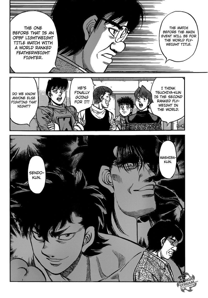 Hajime no Ippo - Chapter 1078