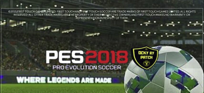 FTS Mod PES 2018 By Ocky Ry Apk + Data Obb Android Terbaru