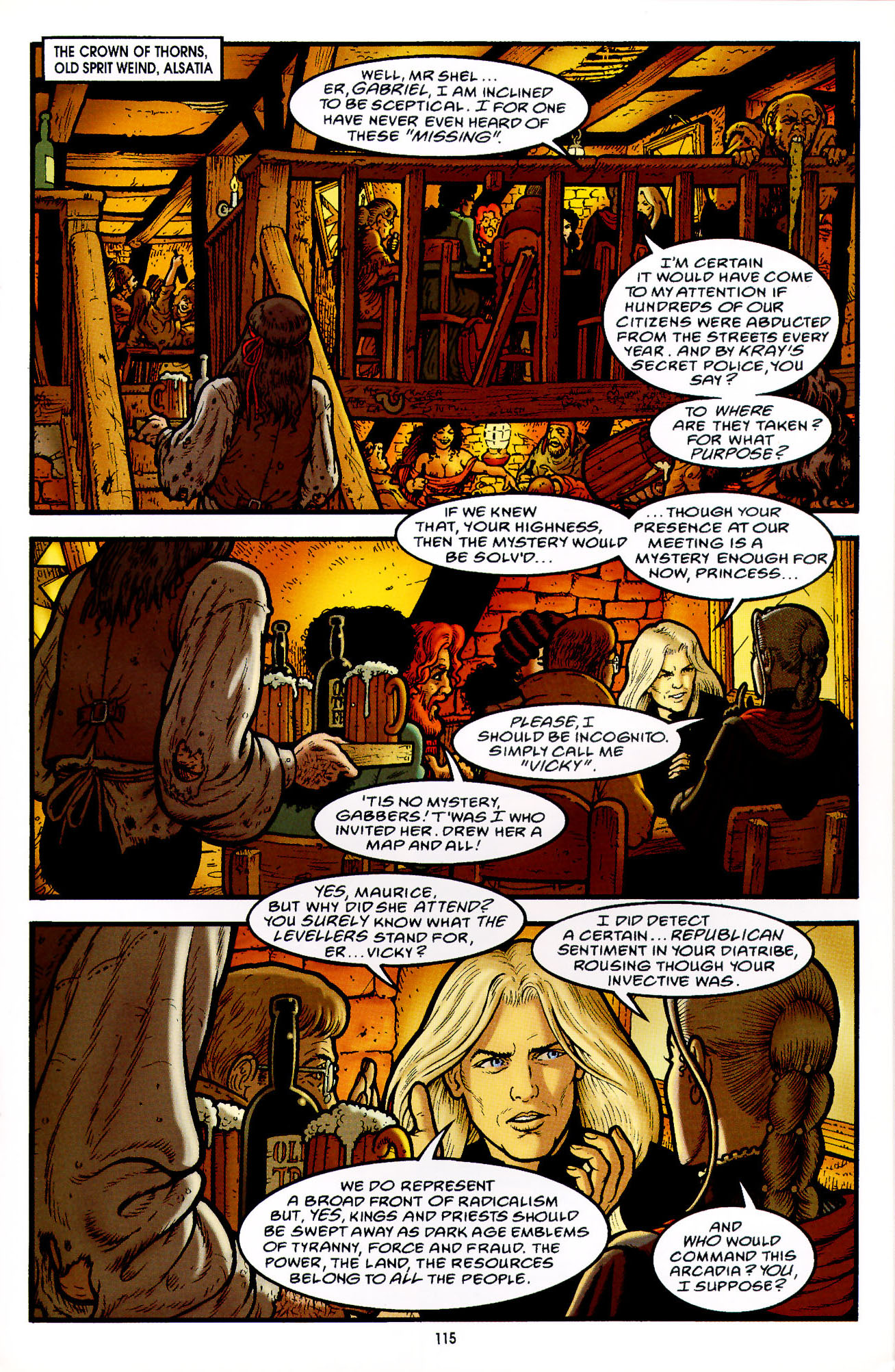 Read online Heart of Empire comic -  Issue #4 - 19