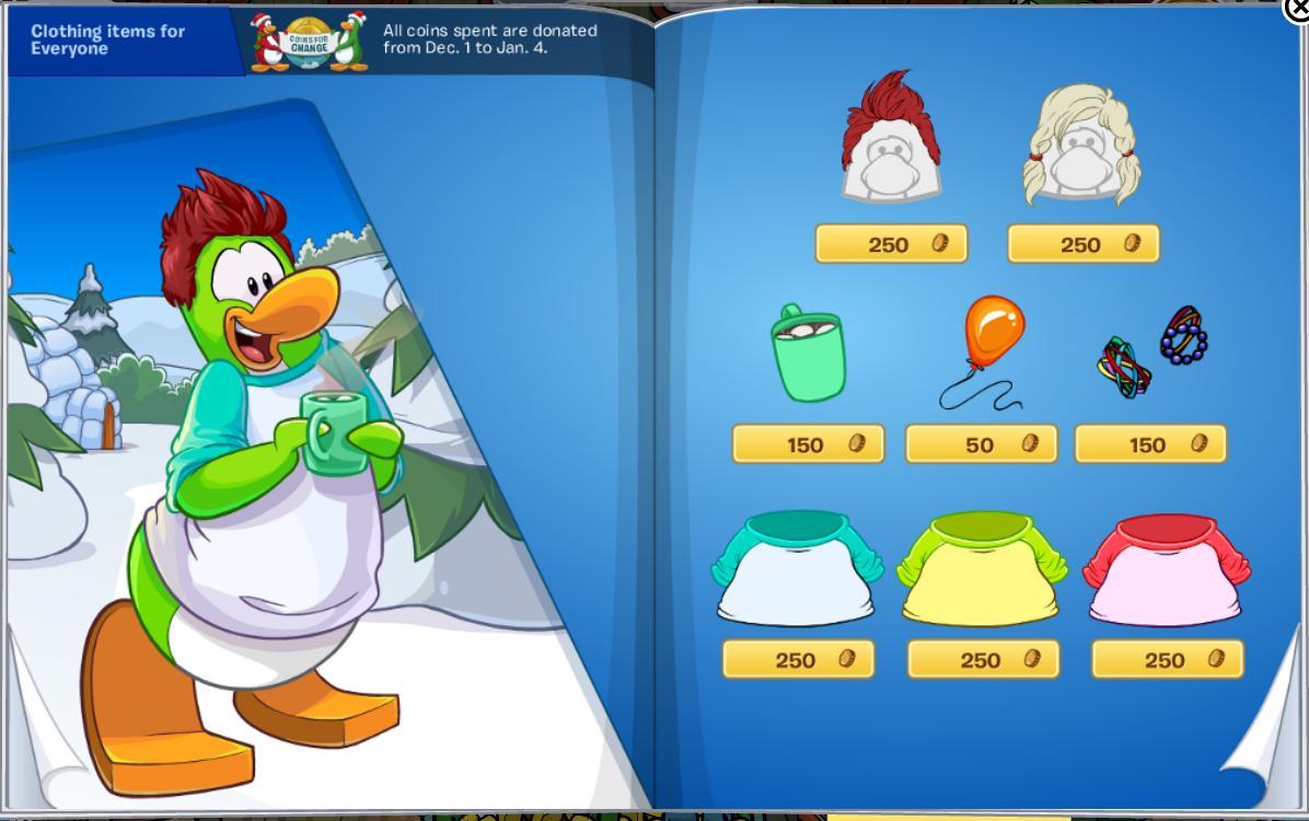 Club penguin hoodie codes