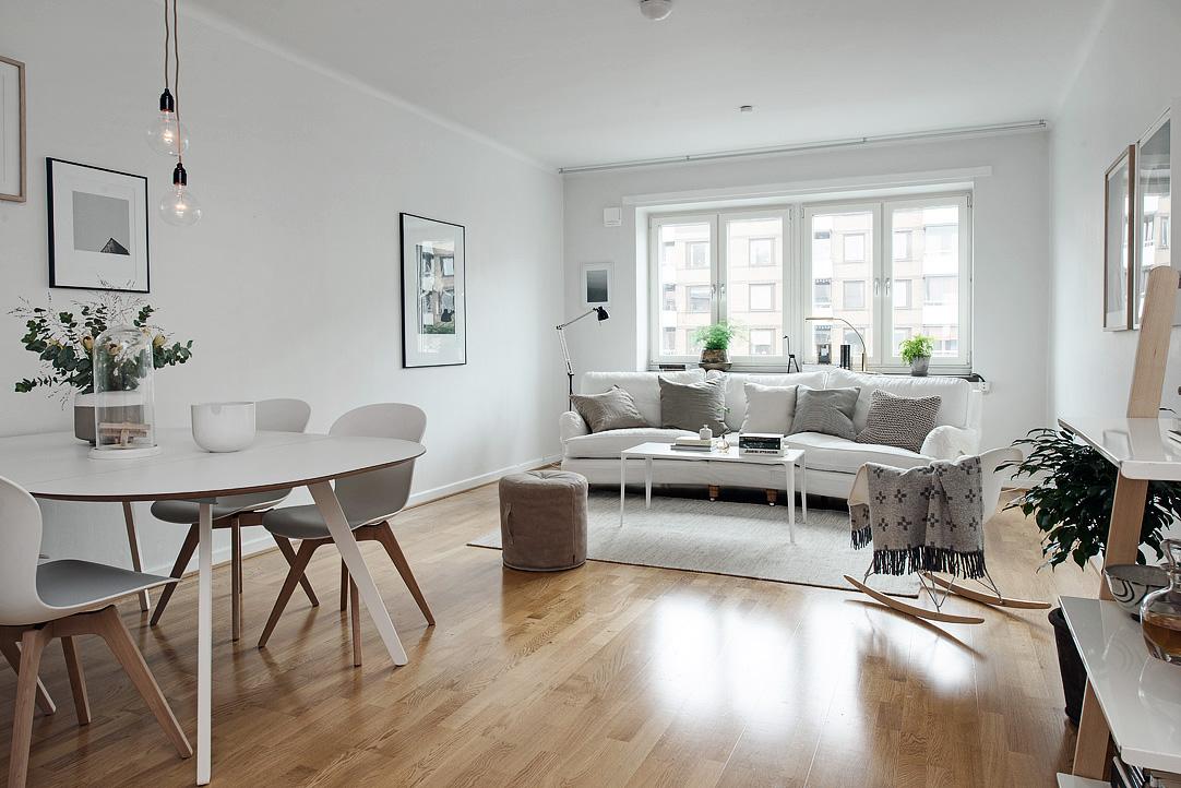 Muebles para casas pequeas MUEBLES NORDICOS PARA PISOS