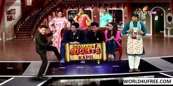Comedy Nights With Kapil (Ek Villain) 29nd June 2014 WEBHD 480p 300mb