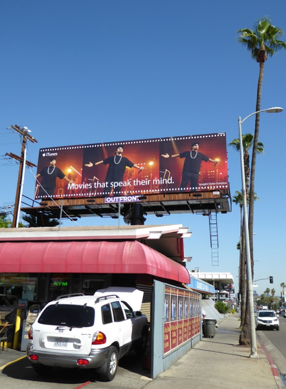 Straight Outta Compton iTunes billboard