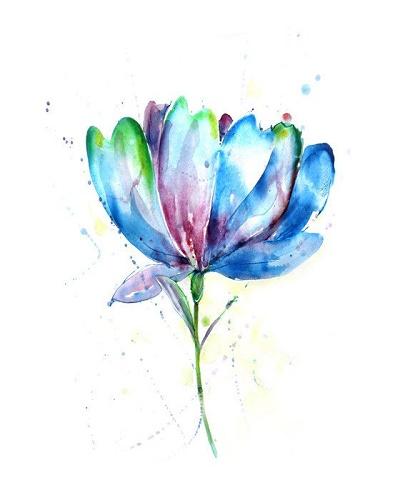 Dibujos De Flores A Color Para Tatuajes Ideas De Tatuajes