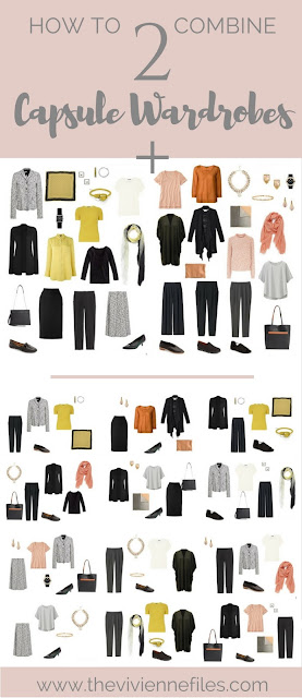How to Combine 2 Capsule Wardrobes