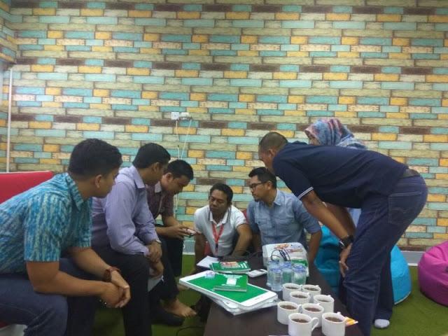 Tim Membertoko Kunjungi Grapari Telkomsel Banda Aceh