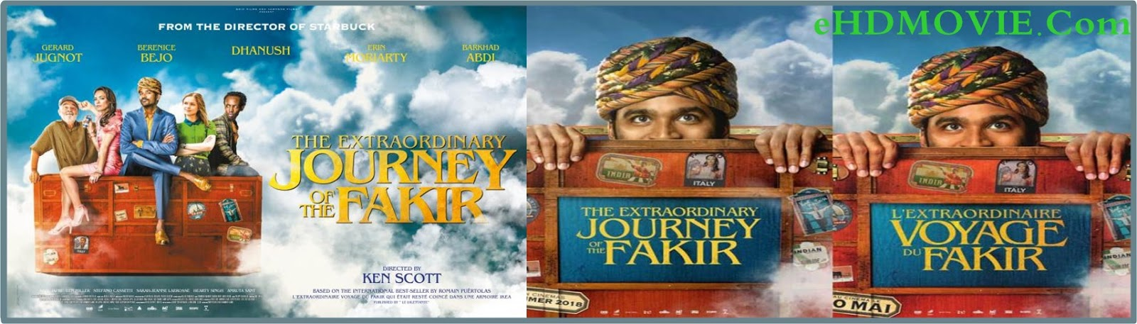 The Extraordinary Journey of the Fakir 2018 Full Movie English 720p - 480p ORG BRRip 350MB - 750MB ESubs Free Download