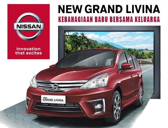 Mobil New Grand Livina Pilihan Keluarga Indonesia