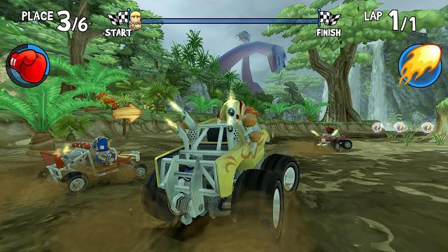 تحميل لعبة beach buggy racing للكمبيوتر