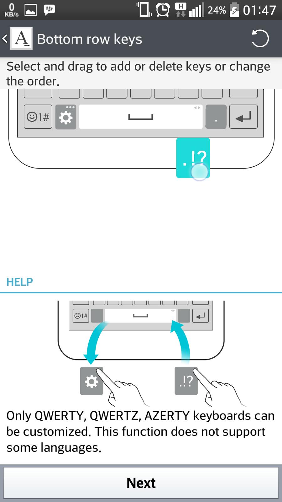 himzzz's space: LG G3 keyboard on LG G Pro KitKat