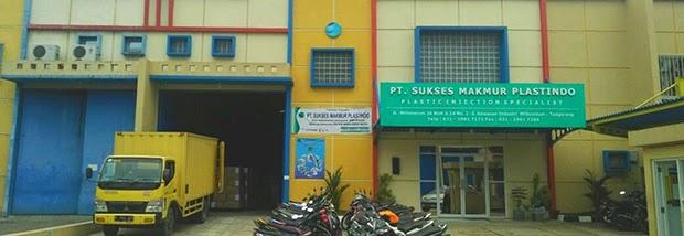 Lowongan Kerja PT. Sukses Makmur Plastindo (PT. SMP)