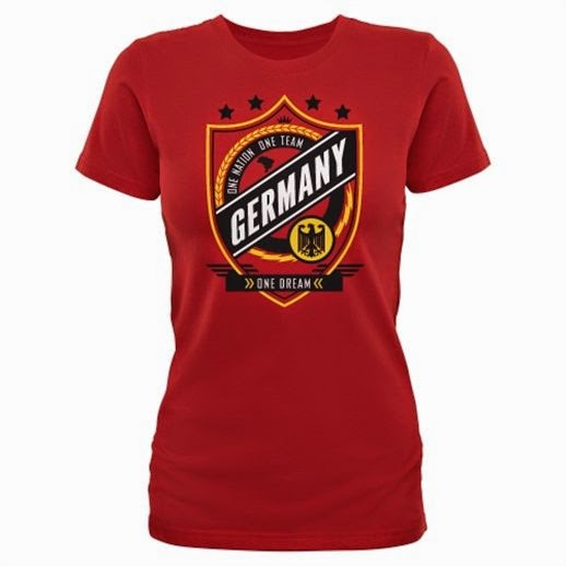 Women's Germany World Cup Champions T-Shirt