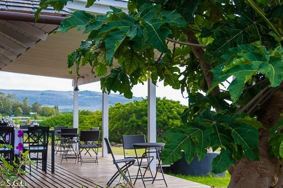 Comedor del Hotel Altiplánico Rapa Nui. Dormir en la Isla de Pascua