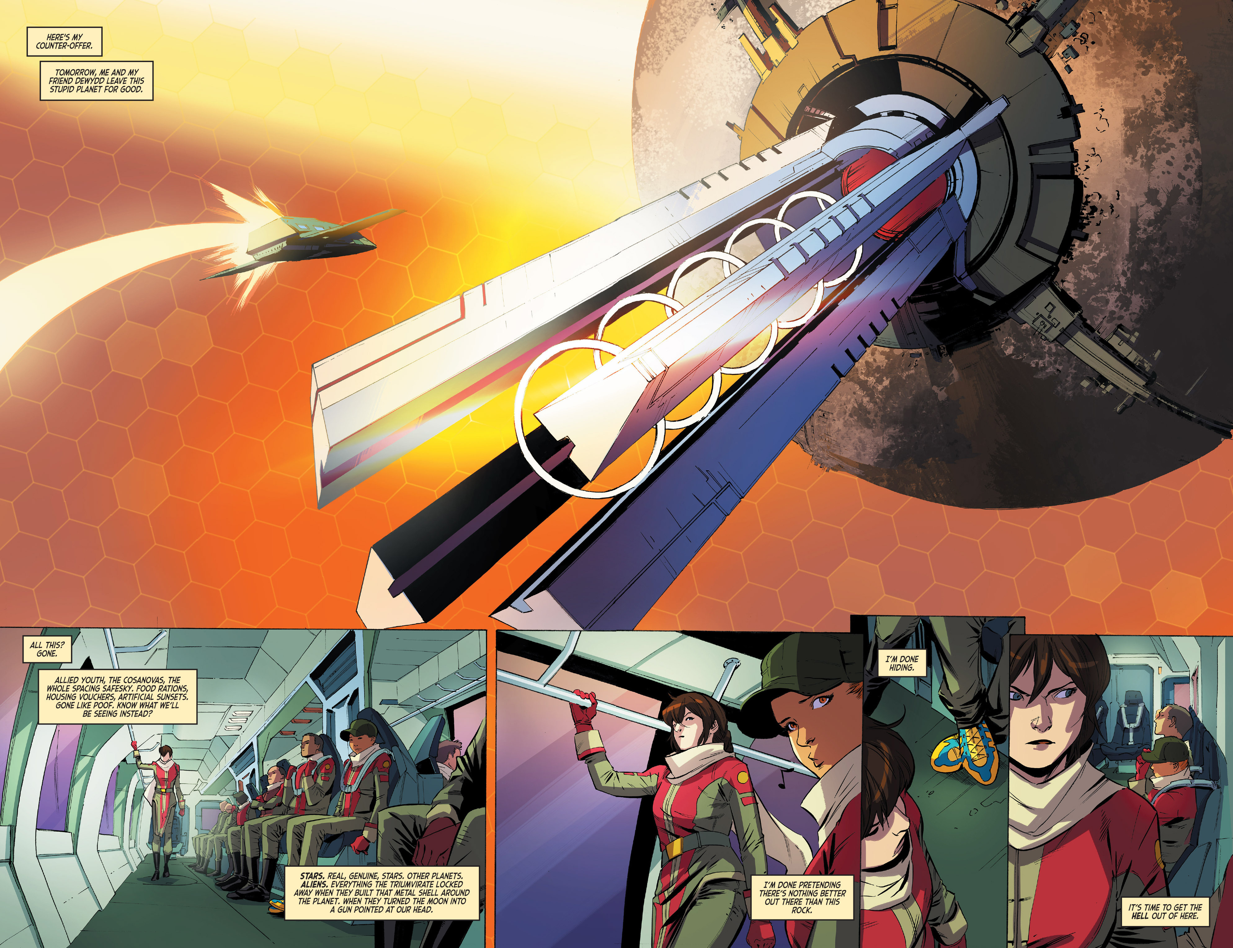 Read online Mighty Morphin Power Rangers comic -  Issue #1 - 29