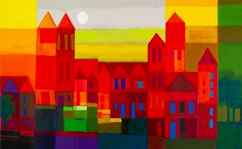 Paintbrush Rocket 3rd Grade Ton Schulten Cityscapes