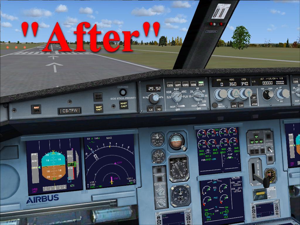 Flightsim Workshop: B737-800 Cockpit Texture Upgrade