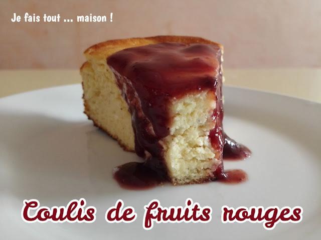 recette coulis de fruits rouges