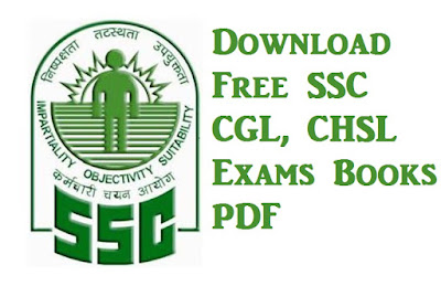 Download Free SSC CGL, CHSL 2017 - 2018 Exams Books PDF