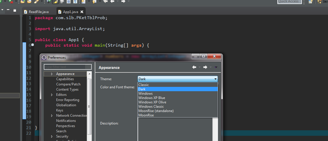 How to make Dark theme for Eclipse like IntelliJ (Darcula) ~ Daily Hack